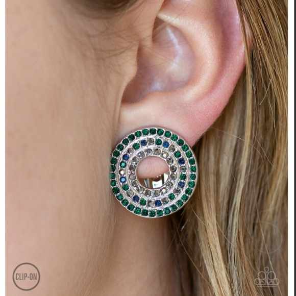 Spun Out On Shimmer Earrings